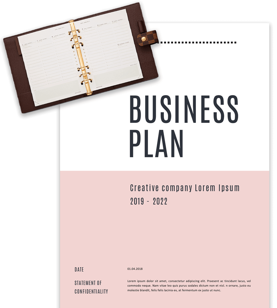 Business Plan Templates in Word for Free Intended For Word Title Page Templates