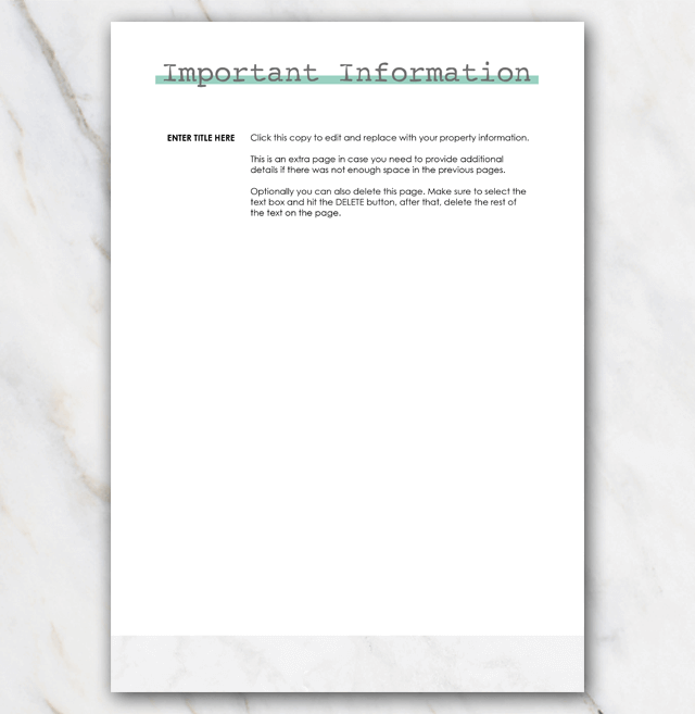 House manual airbnb page 4